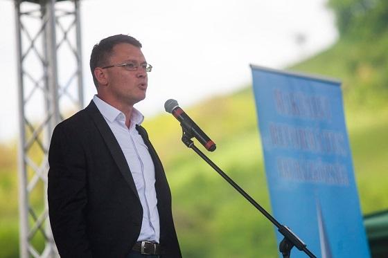 Csomortányi István, az EMNP elnöke. Fotó: Facebook / Csomortányi István